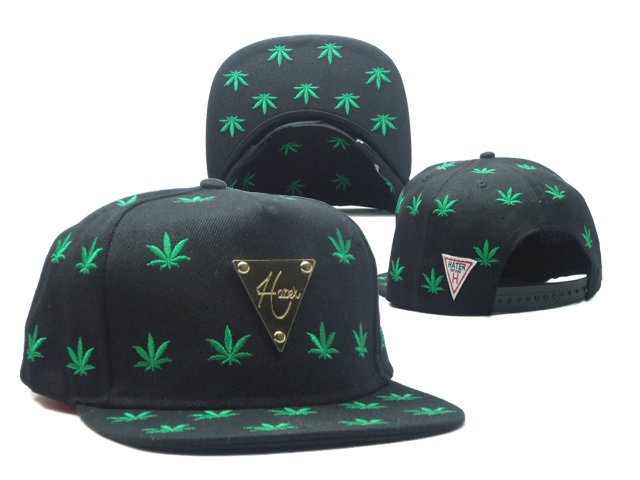 HATER Black Snapbacks Hat SF